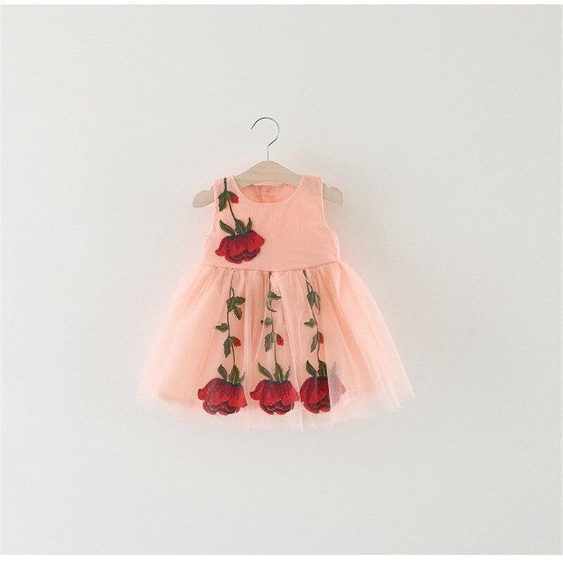 Neugeborenes baby kleidung Rosen kleid, mädchen spitzenkleid sommer ...