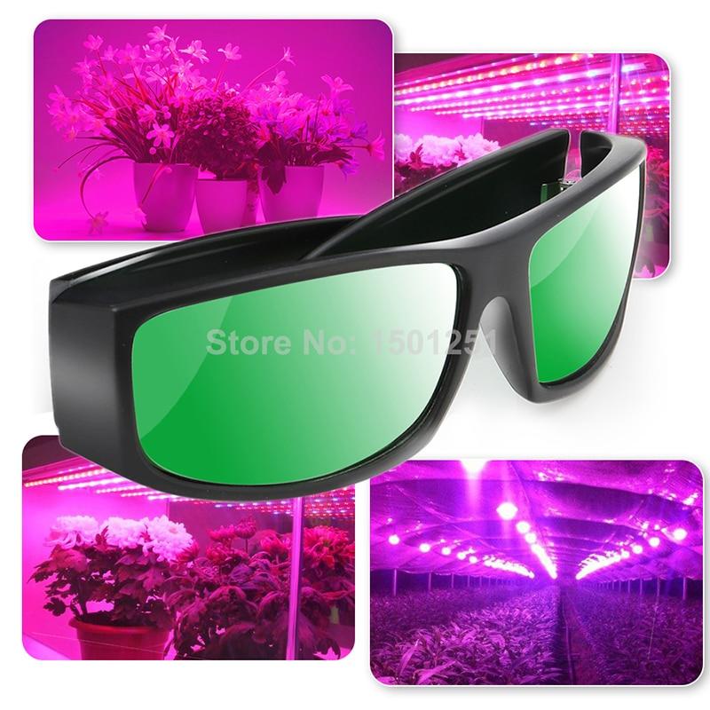 Professionnel LED Chambre de Culture Lunettes UV Polarisant Lunettes pour Grandir Tente À Effet de Serre Hydroponique Plant-Light Eye Protect Lunettes