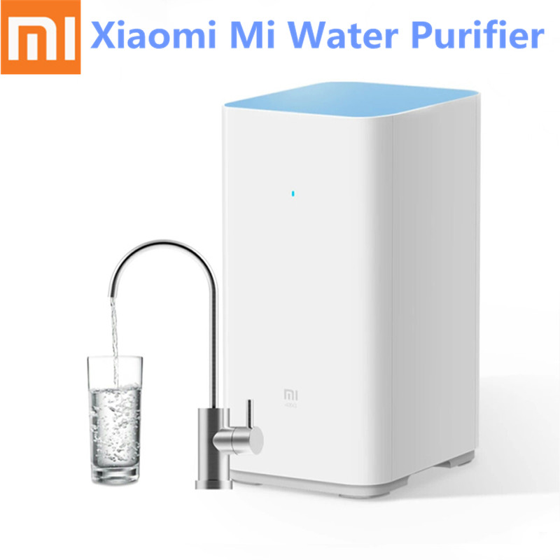 Original Xiaomi Mi Water Purifier Watering Filters Support RO Purification Technology App Remove Heavy Metals and Antibiotics