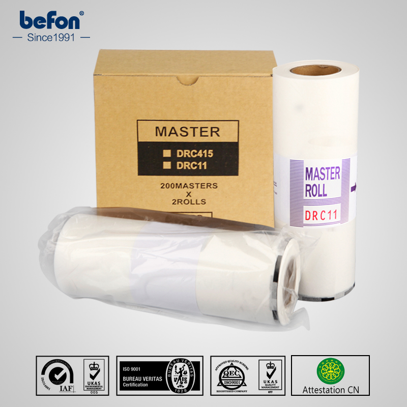 befon Master Roll DRC11 A4 Compatible for DUPLO DP110 DP 110 2 rolls box