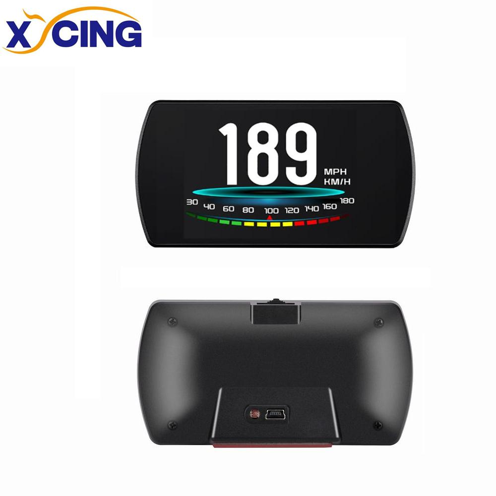XYCING 4.3 TFT OBD GPS Hud Head Up Display Digital Car Speed Projector On-Board Computer OBD2 Speedometer Windshield Projetor