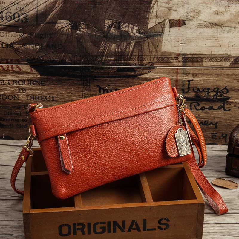 ef87a351937f Для женщин плеча курьерские Сумки 100% пояса из натуральной кожи сумки  Женская мода Сумка через