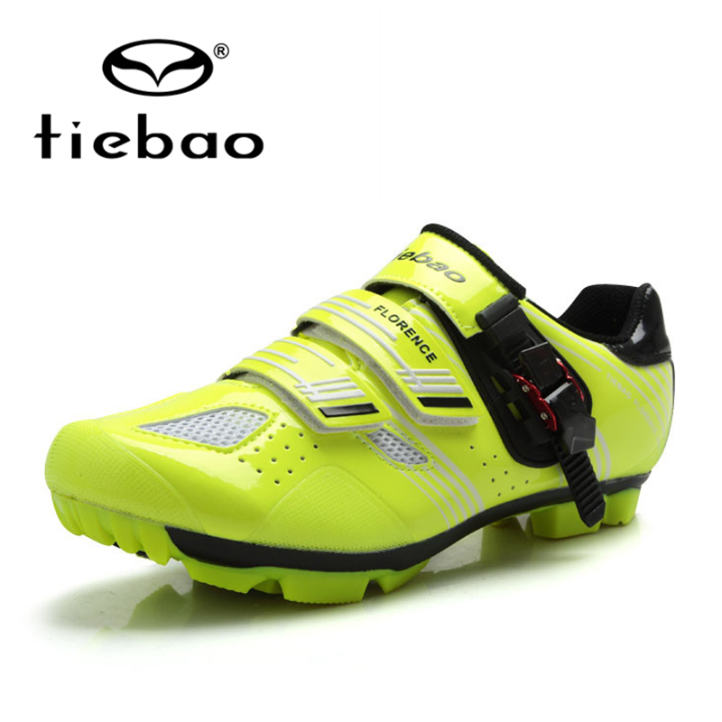 все цены на Tiebao 2018 NEW Cycling Shoes MTB Self-Locking Shoes Professional Cycling Equipment Breathable Athletic Shoes TB15-B1330 онлайн