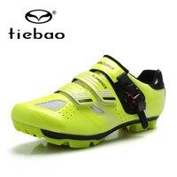 Tiebao 2018 NIEUWE Fietsschoenen MTB Zelfsluitende Schoenen Professionele Fietsen Apparatuur Ademend Sportschoenen TB15 B1330-in Wielersport schoenen van sport & Entertainment op