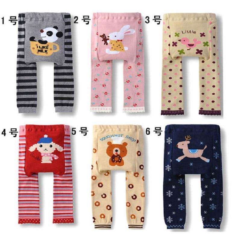 Pantalones para niños Pantalones para bebés Niñas bebés Leggings Calentador de piernas Pantalones Niños Pantalón ropa de bebé ropa de niña