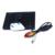 """LCD de ALTA DEFINICIÓN de 5 """"posterior del coche que invierte el monitor 800*480 de la pantalla del color material de la lente de cristal cámara de reserva del coche del ccd de 8 led para Kia K2 Rio sedan"""