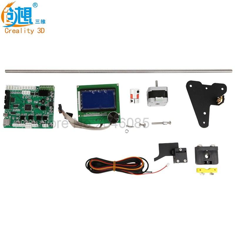 Отправить по DHL/FedEx creality 3D-принтеры Запчасти cr-10s z оси обновление 2 винтов + двигатель провода + нити мониторинг сигнализация защита