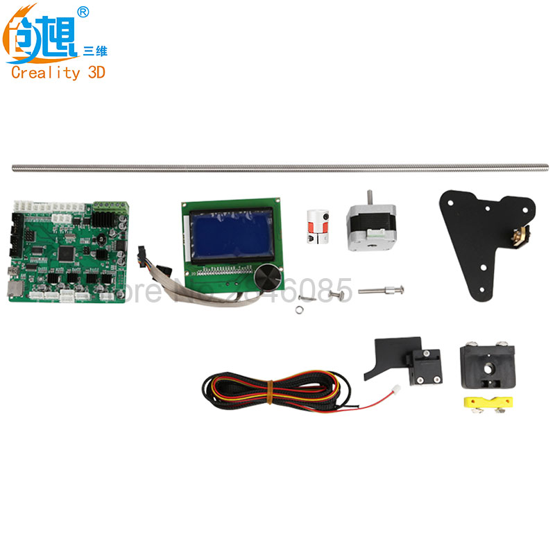 Envoyer Par DHL/Fedex CREALITY 3D Imprimante Pièces CR-10S Z axe mise à jour 2 plomb vis + moteur fils + Filament Surveillance D'alarme Protection