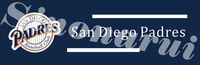 San Diego Padres Baseball Team Tailgate Banners Flags Customized Hanging Flag 110g Knitted Polyester With Gromets