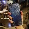 For Apple IPhone 6 6S 6plus 7 7 Plus Luxury Flower Case Blingbling Glitter Rhinestone Diamond