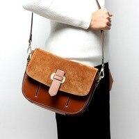 American Style Designer Luxury Mini Leather Female Bag Genuine Leather Crossbody Bag High Quality Serpentine