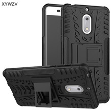sFor Coque Nokia 6 TA-1000 Case Shockproof Rubber Hard PC Silicone Phone For Cover Nokia6 Shell XYWZV