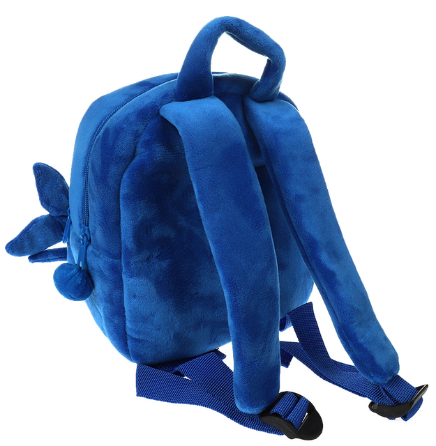 Dropship Baby Plush Shark Backpack Cute Cartoon Animal Schoolbag Travel Bag Kids Mini School Bag Pre-School Backpack 2
