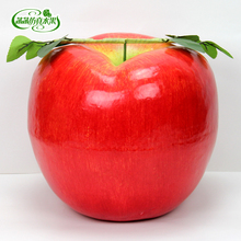 Super large red for  apple foam fake fruit Large model decoration props