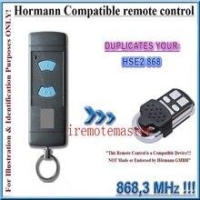 Hormann HSM4 HSM2 868 МГц, hse2 868, hsz1 868, hsz2 868, hs пульт дистанционного управления двери гаража совместимый пульт дистанционного управления Дубликатор