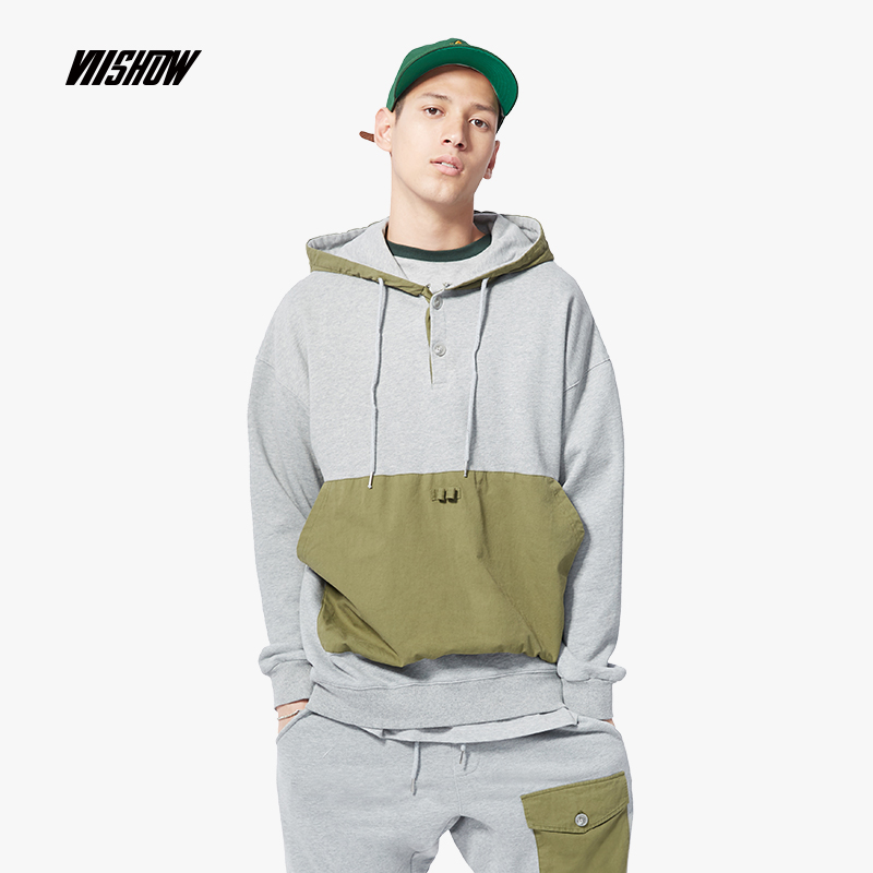 2018 Trendy Custom Logo Print Hooded Mens Hoodies and Sweatshirts Oversized for Autumn with Hip Hop