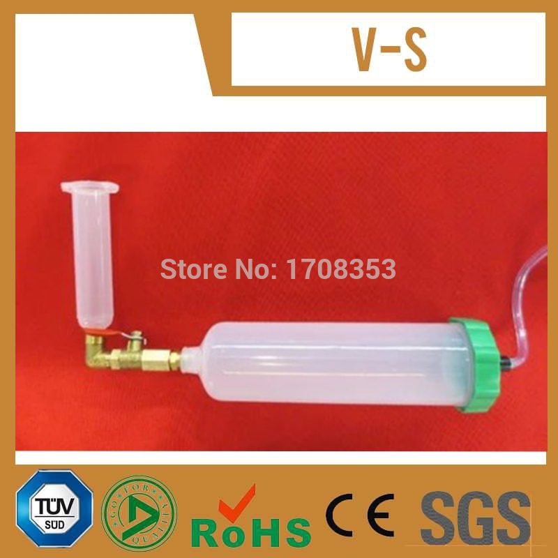 Free Shipping 1Pc 30cc Syringe + 1Pc 10cc Dispensing Syringe + Assembly Parts For Glue Prefilling Project