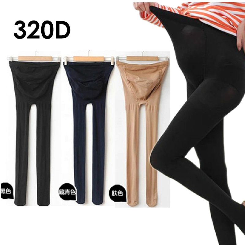 Autumn Spring Maternity Tights, Maternity Stockings/Leggings For Pregnant Women,Pregnancy pantyhose Adjustable High Elastic 320D