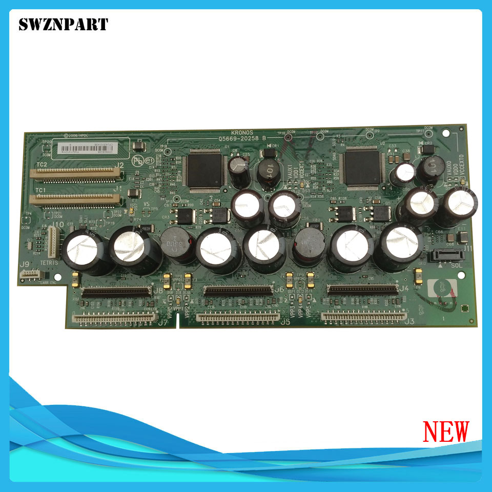NEW Carriage PCA Board Carriage Board Q6659 67019 Q6659 60175 For HP Designjet Z2100 3100 PS