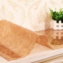Pvc tischdecke Kaffee matten wasserdicht ölbeständiges Tischdecke Weiches material glas tischabdeckung kostenloser versand