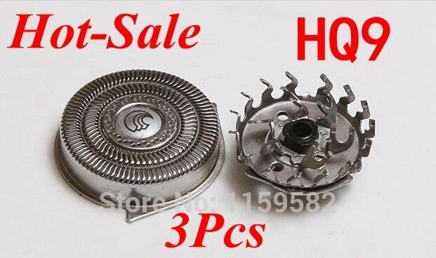 3pcs Old Replace HQ9 razor blade Head for philips Norelco Electric Shaver HQ9100 HQ9140 HQ9160 HQ9170 HQ9020 HQ9070 rq10 rq12