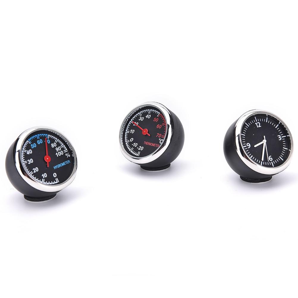 Termómetro digital para coche Higrómetro Reloj de cuarzo mecánico - Accesorios de interior de coche - foto 2