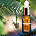 MEIXI snail repair essence Liquid 10ml whitening moisturizing anti-aging acne Face Care Cream Serum 2pcs