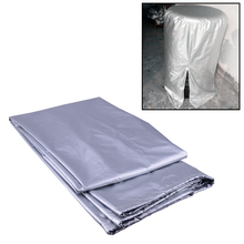 DWCX 32 Diameter L Tire Wheel Storage Bag Rain/Dust proof Seasonal Protective Cover Holds 4 Tires