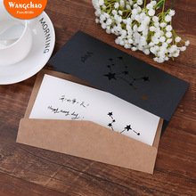 New Arrivals 12 Constellations Hollow Greeting Cards Happy Birthday Gift Card Thank You Party Favors with Envelopes