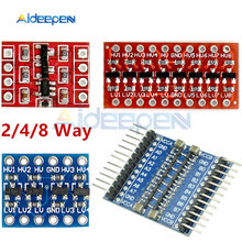 2/4/8 Channel IIC I2C Logic Level Converter Bi-Directional Board Module 2 4 8 Way DC 3.3V/5V With Pins For Arduino Raspberry Pi(China)