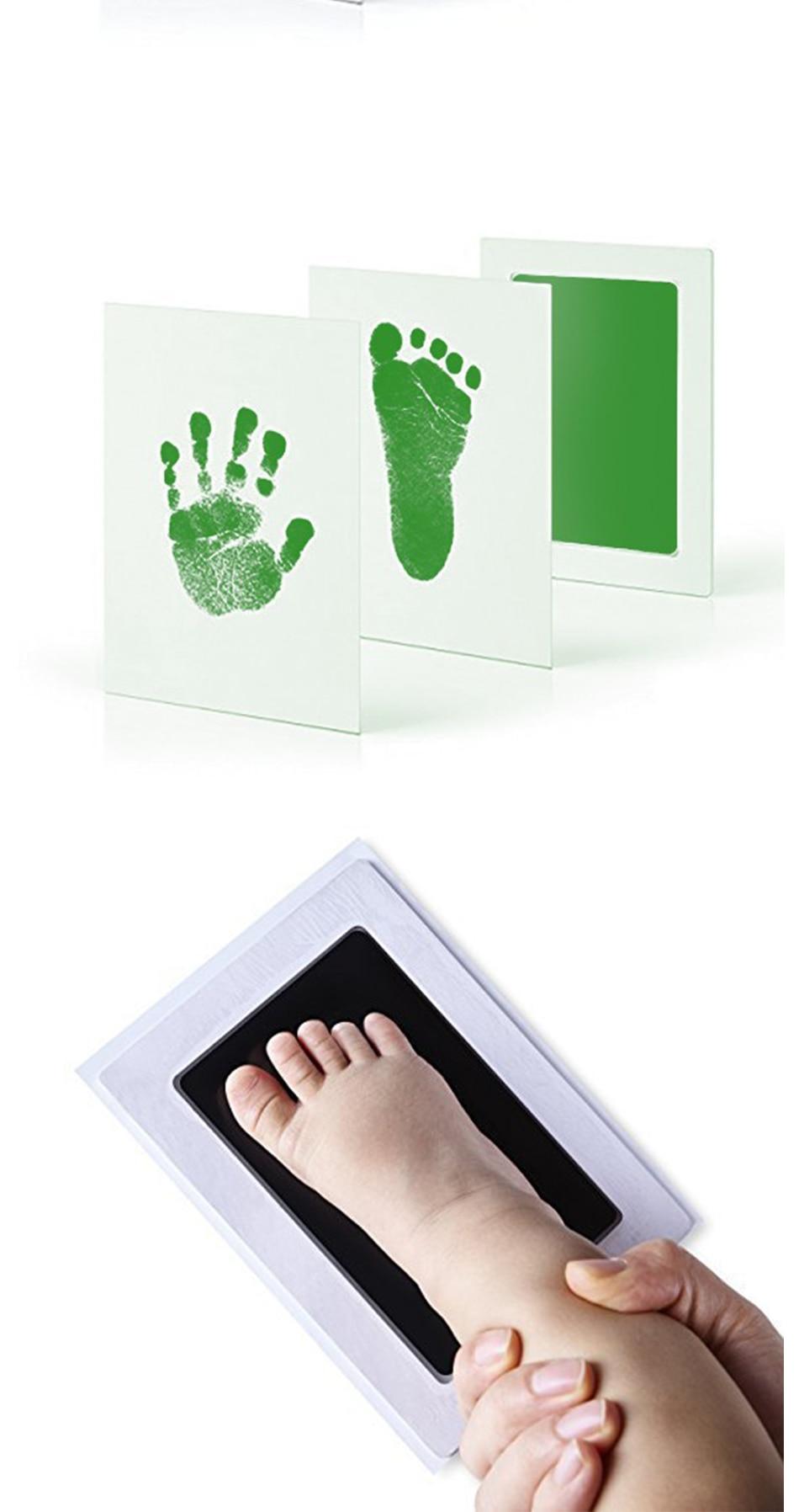 Уход за младенцем нетоксичный ребенка отпечаток Набор для отпечатка
