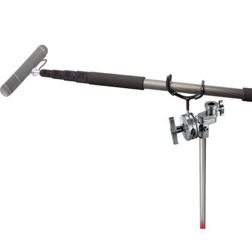 Boompole Holder 3-1/2 Support Holder Coated To Protect Your Boom Pole For Rode Sure Microphone