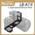 LB-A7 XILETU II Tipo L Quick Release Placa L Verticais aperto de mão suporte lb-a7m2 especificamente para sony alpha7ii a7r2 a7m2 A7II