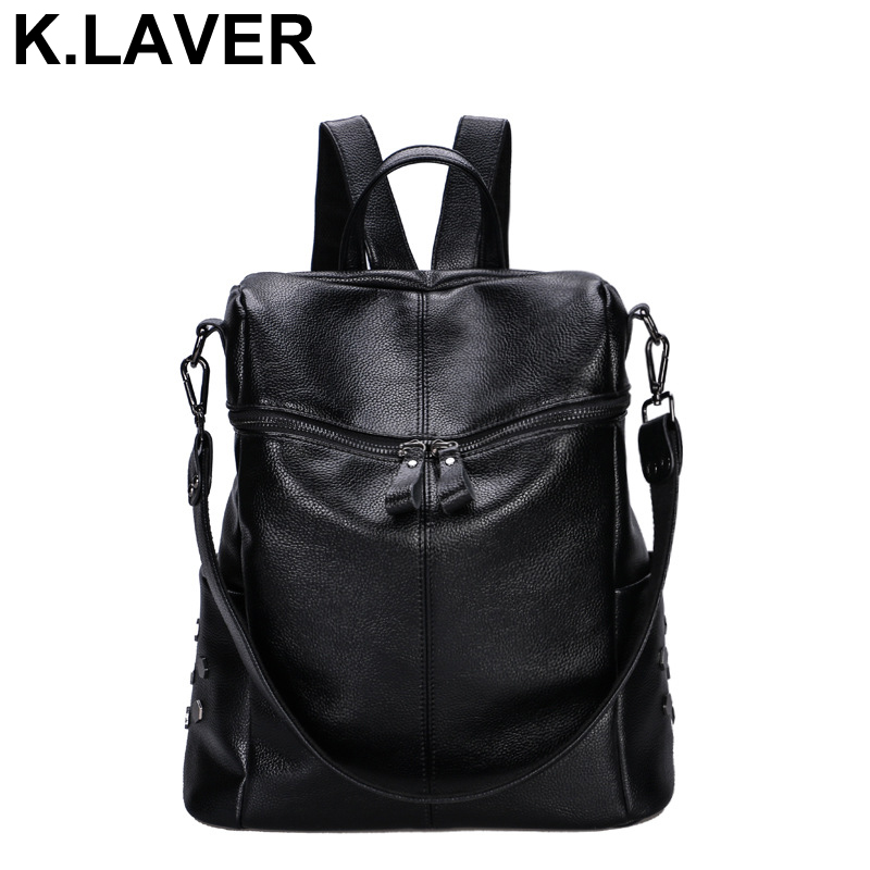 Fashion Women Backpack High Quality Leather Backpacks for Teenage Girls Female School Bags Bagpack Mochila Travel Shoulder Bag girls fashion black leather backpack women travel bags small backpacks for teenage girls pu leather shoulder bag girl bagpack
