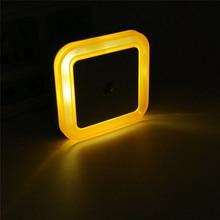 Novelty Light Sensor LED Night Light Baby Bedside Lamp Night Lamp luminarias Sleep Light For Kids Bedroom Stair EU US Plug