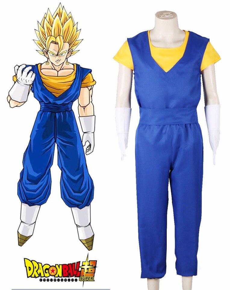 Dragonball Dragon Ball Z Vegeta Cosplay Costume Suit Uniform Full Set
