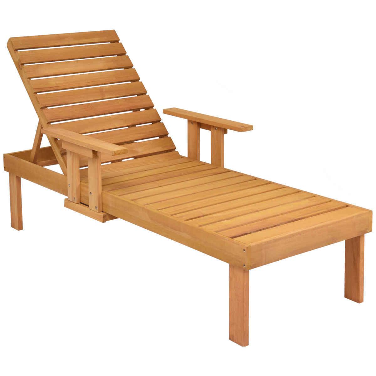 Sun Lounger Outdoor Furniture Garden