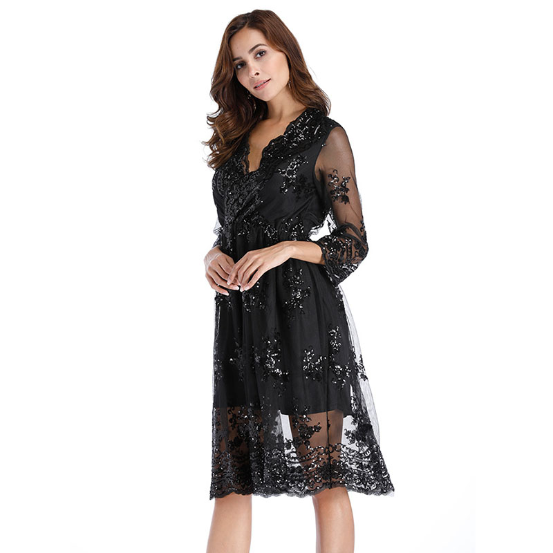 MUXU sexy summer womens clothing party dress sequin glitter vestidos mujer  loose ladies dresses tunic party fashion gold dress a270906fc9e7