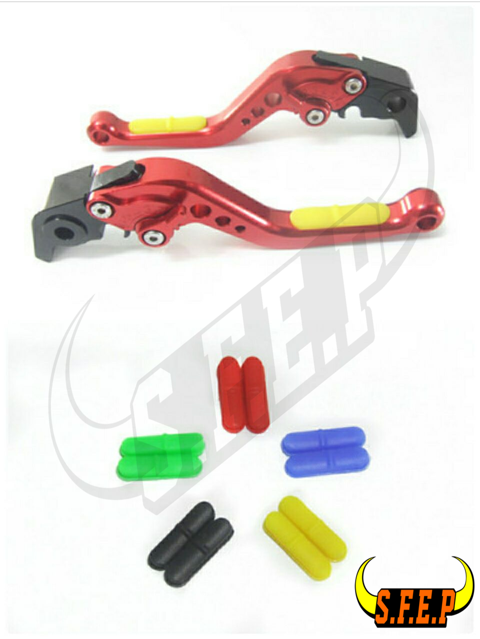 CNC Adjustable Motorcycle Brake and Clutch Levers with Anti-Slip For BMW HP2 Megamoto 2006-2009