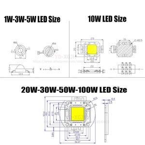 Image 3 - Heißer IR High Power LED Chips 3W 5W 10W 20W 30W 50W 100W 730Nm 850Nm 940Nm für Emitter Diode COB integrierte Matrix Licht Perlen