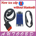 New Vci 2014.R2 /2015.R1+Free activate cdp without Bluetooth TCS cdp pro obd2 OBDII OBD II Car Auto Scanner CARs/TURCKs