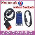 Nueva Vci 2014. R2/2015. R1 + activate Gratuita cdp sin Bluetooth TCS cdp pro obd2 OBDII OBD II Del Coche Auto Escáner de Coches/TURCKs