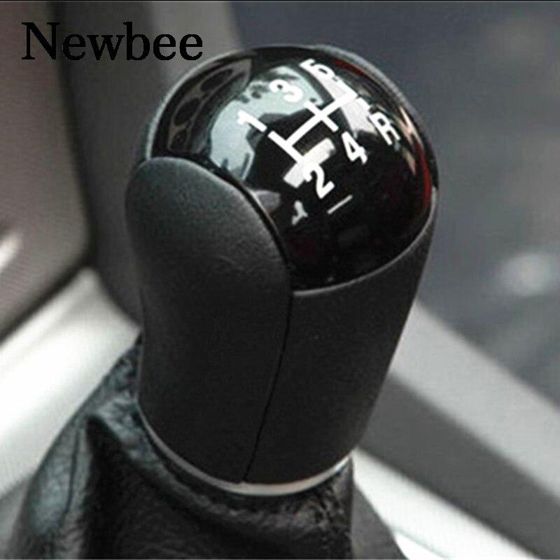 Newbee 5 Speed Car Manual Gear Shift Knob Lever Stick Head