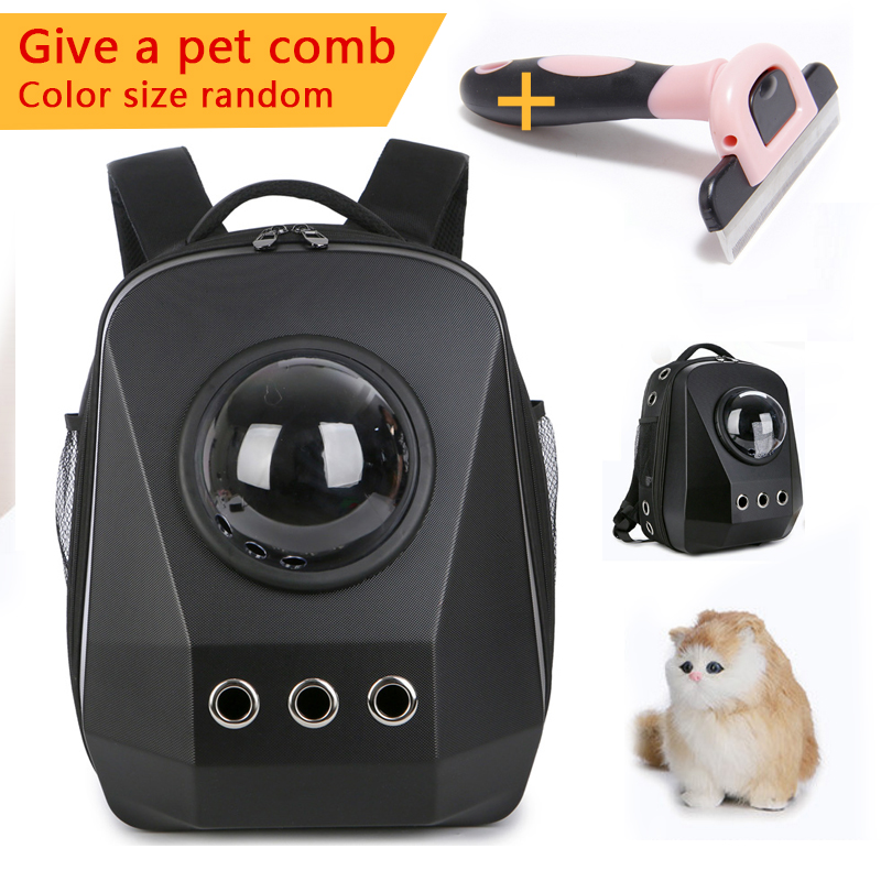 pet bag Pet Cat Backpack Space Capsule Astronaut Carrierl Breathable Bubble Window for Kitty Puppy capacity