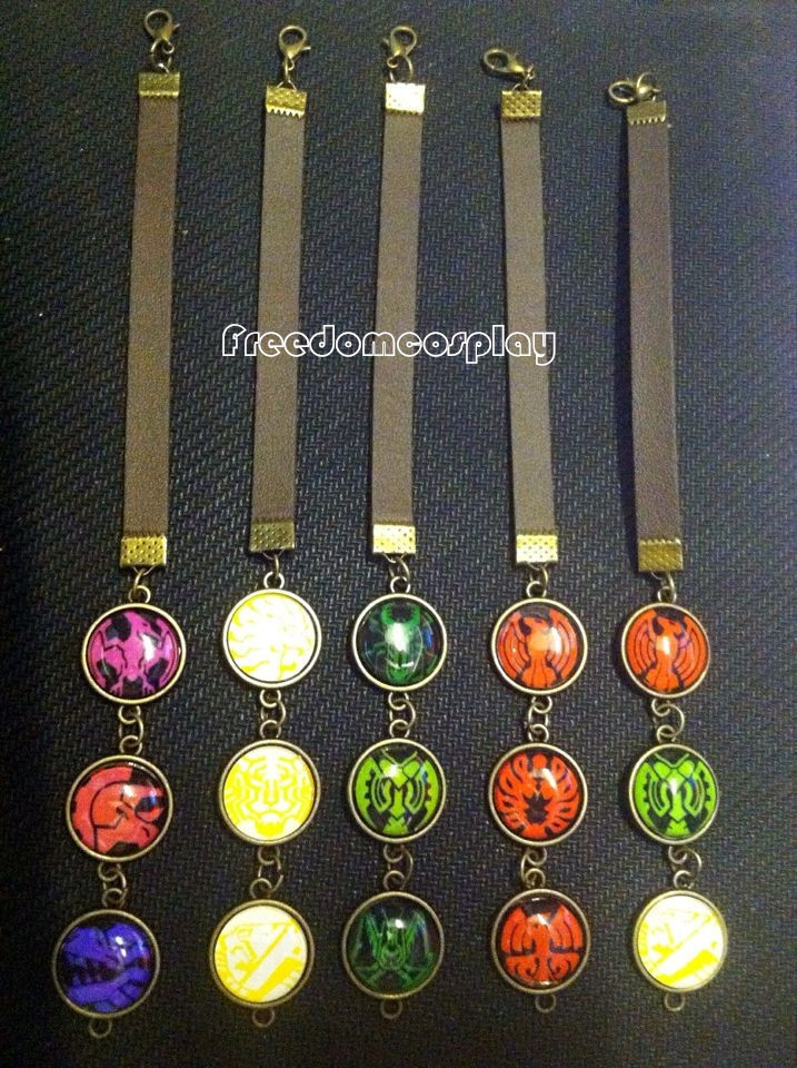 Kamen Rider OOO Cosplay Bracelet