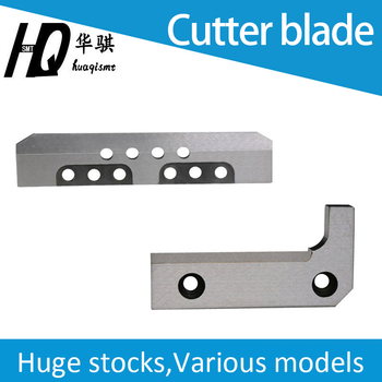 Cutter blade for HT121 HT122 Panasonic chip mounter, SMD spare parts, movable fixed cutter108111110504 108111110604 108111110603
