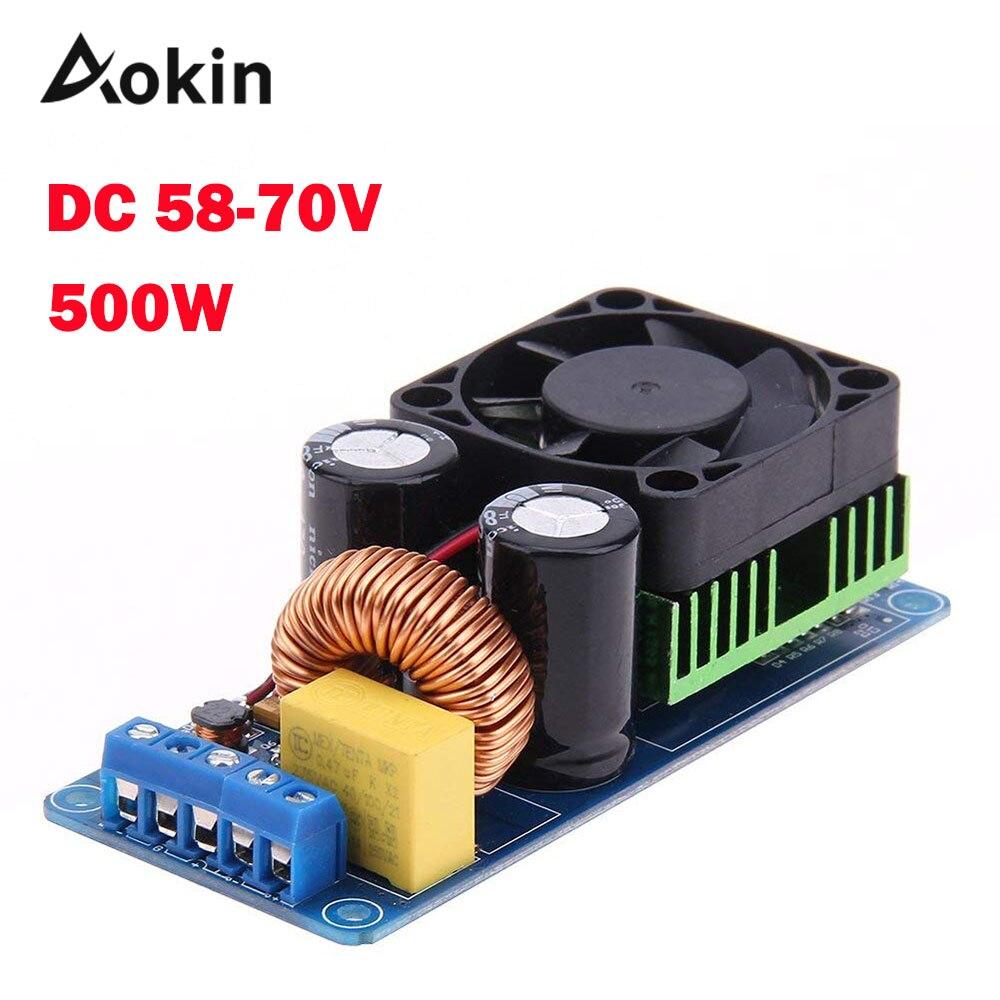 IRS2092S 500W Mono Channel Digital Amplifier Class D HIFI Power Amp Board 20Hz-20KHz Digital Amplifier ModuleIRS2092S 500W Mono Channel Digital Amplifier Class D HIFI Power Amp Board 20Hz-20KHz Digital Amplifier Module