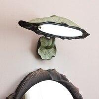 New Chinese style resin LED wall light bathroom mirror bedroom makeup toilet decoration art creativity wall lamp ZA1124607