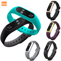Hot original xiaomi mi banda 2 oled inteligente pulseira wrist band pulseira heart rate monitor de fitness rastreador sensor de casa epacket