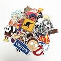 2018 50pcs Random Mixed Sticker for Snowboard Laptop Luggage Car Fridge Car- Styling Vinyl Decal home decor Stickers Pegatinas